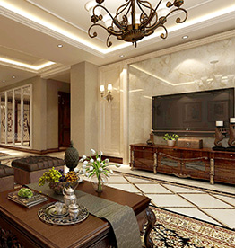 卓尔沈阳客厅186㎡新古典风格