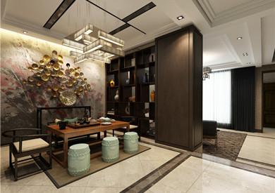 中海央墅230平新中式4室2厅